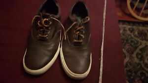 dark brown Polo Shoes size 10.5 - Almost New
