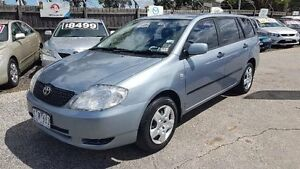 2003 Toyota Corolla ZZE122R Ascent Blue 4 Speed Automatic Wagon Maidstone Maribyrnong Area Preview
