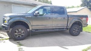 "2016 Ford F-150 SuperCrew XLT FX4 with 4"" BDS lift"