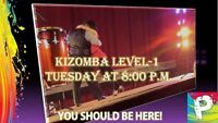Kizomba Level 1 clases - first step level