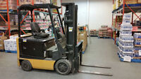 2006 CAT Caterpillar Electric Forklift E4000 4000lb - Low Hours!
