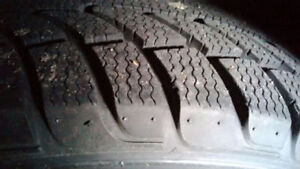 205/55R16 winter tire mounted and balanced, $75