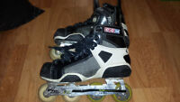 CCM RH970 Roller Hockey Skates (pre-owned), Men's Size 8