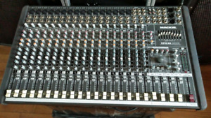 Mackie 20 channel mixer with 100 ft stage snake
