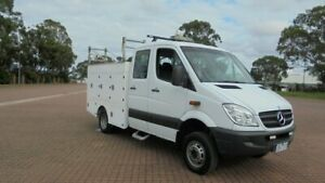 2012 Mercedes-Benz Sprinter 906 MY11 516CDI LWB (4x4) White 5 Speed Automatic Dual Cab Chassis Condell Park Bankstown Area Preview