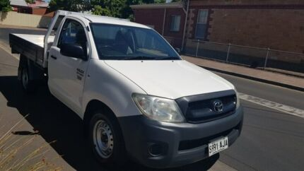 2010 Toyota Hilux TGN16R MY10 Workmate 4 Speed Automatic Cab Chassis