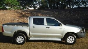 2010 Toyota Hilux GGN25R MY10 SR Silver 5 Speed Automatic Utility