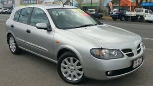 2005 Nissan Pulsar N16 S2 MY2004 Q Silver 5 Speed Manual Hatchback Bungalow Cairns City Preview