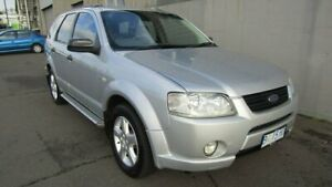 2004 Ford Territory SX TS AWD Silver 4 Speed Sports Automatic Wagon