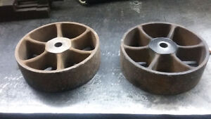cast iron antique wheels