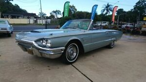 1965 Ford Thunderbird Blue 3 Speed Automatic Convertible Capalaba Brisbane South East Preview