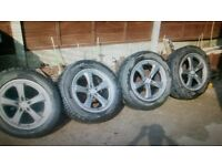 "18"" alloy wheel and tyres"