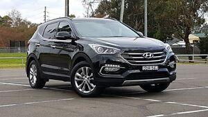 2015 Hyundai Santa Fe DM3 MY16 Elite Black 6 Speed Sports Automatic Wagon Kings Park Blacktown Area Preview