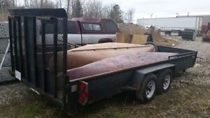 18 ft landscape trailer read description