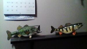 wood fish carvings Cambridge Kitchener Area image 5