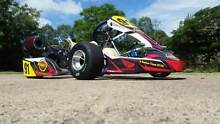 Arrow X1 jnr kart with stroked honda gx200 Beaudesert Ipswich South Preview