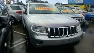 2011 Jeep Grand Cherokee Silver Sports Automatic Wagon Dandenong Greater Dandenong Preview