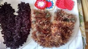 ladies knitted shawls,Knitted Mitts etc London Ontario image 5