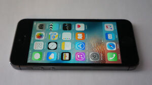 APPLE iPHONE 5S BLACK 16GB - TELUS/KOODO ##