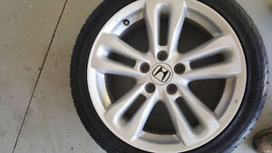 4-HONDA CIVIC SI RIMS W/215/45/17 ***PLUS ONE FREE***
