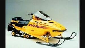 2001 Skidoo MXZ 670HO **SUPER FAST!!!**