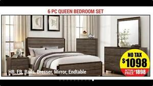 Upto 80% Off on Queen Bedroom Sets ON Sale in Brampton   Mississauga   Toronto (AD 26)