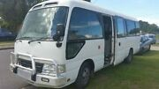 2012 Toyota Coaster White RWD Deagon Brisbane North East Preview