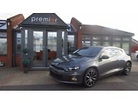 """Immaculate VW Scirocco GT TDI BlueMotion DSG with Heated Seats, 18"""" Lisbons, Winter Pack+Dynaudio"""