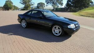 1997 Mercedes-Benz SL280 R129 Black 4 Speed Automatic Convertible Condell Park Bankstown Area Preview