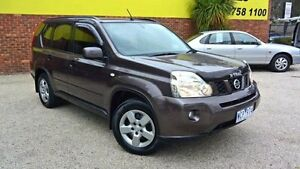 2007 Nissan X-Trail T31 ST Iridium Graphite Constant Variable Wagon Upper Ferntree Gully Knox Area Preview
