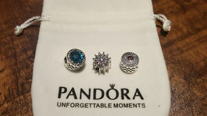 New Authentic Pandora Charm/ Safety chain / Clip