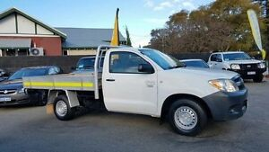 2005 Toyota Hilux TGN16R MY05 Workmate White 5 Speed Manual Utility