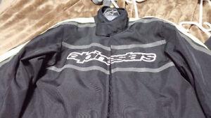 Alpinestars Motorcycle Jacket + Upgraded CE2 Armour -Large