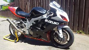 2003 Suzuki SV650s GSXR track bike