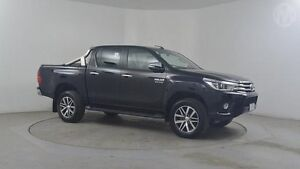 2015 Toyota Hilux GUN126R SR5 Double Cab Black 6 Speed Sports Automatic Utility Altona North Hobsons Bay Area Preview