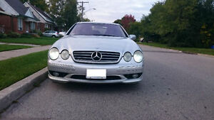 2003 Mercedes-Benz CL-Class 500 Coupe (2 door)
