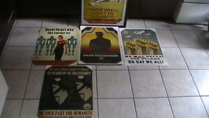 Battlestar Galactica Propoganda Poster Set Kitchener / Waterloo Kitchener Area image 2
