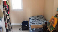 Furnished room for sublet in DOWNTOWN core- Female-All incl-ASAP