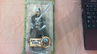 LORD OF THE RINGS KING ELENDIL ACTION FIGURE