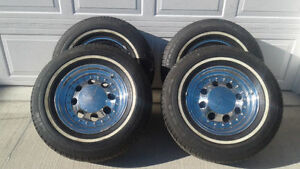 RARE Cragar progressive rims with tires