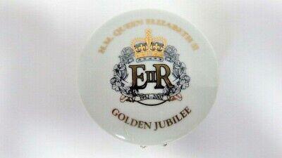 H.M. Queen Elizabeth II - House of Vanguard Golden Jubilee China Trinket Box