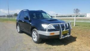 2010 Subaru Forester MY10 X Black 5 Speed Manual Wagon Muswellbrook Muswellbrook Area Preview