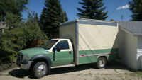 2007 Ford F-550 XLT 4x4 diesel box 4 oilfield,hotshot,mechanic?