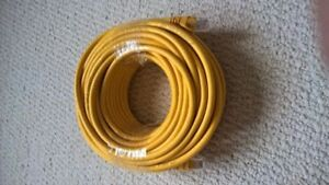 75 feet / 23 meters Ethernet cable cat 6