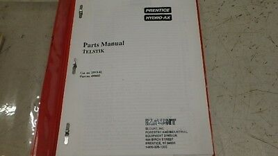 Prentice Hydro Ax Telstik 498603 Parts Manual Ci181