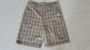 Under Armour Plaid Golf Shorts - for sale