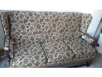 Sofa & armchair (free delivery)