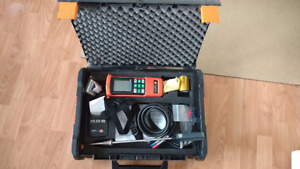 Testo 325M Combustion analyzer with printer and case.