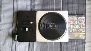 DJ Hero game and turn table for PS2