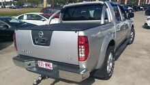 2012 Nissan Navara D40 S6 MY12 ST Silver 6 Speed Manual Utility Buderim Maroochydore Area Preview